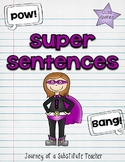 Superhero Sentences: Punctuation Practice