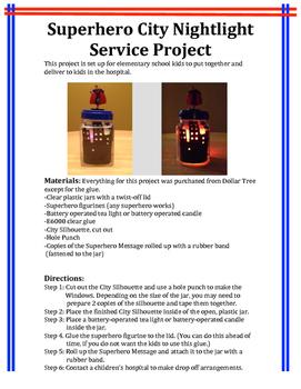 Superhero Service Project