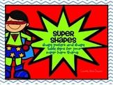 Superhero Shapes