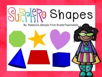 Superhero Shapes posters