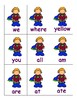 Superhero Sight Word