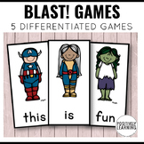 Superhero Games for Literacy