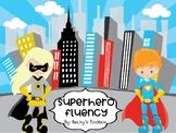 Superhero Sight Word Fluency First 100 Fry Words