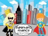 Superhero Sight Word Fluency First 100 Fry Words