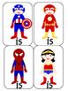 Superhero Sight Word GO Fish Pack #1