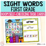 Superhero Sight Words First Grade Boom Cards™ | Digital Ta