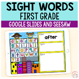 Superhero Sight Words First Grade - Google Slides & Seesaw