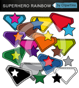 Superhero Sign Clipart