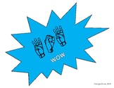 Superhero Signs (English/ASL)
