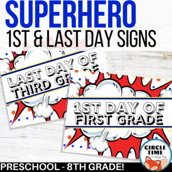 graphic relating to First Day of 1st Grade Printable referred to as Superhero Indicator, Printable 1st Working day of Higher education Indication 2019-20 Very first Working day Signal