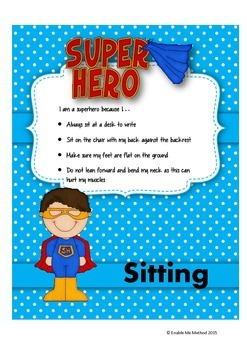Superhero Sitting