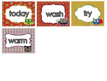 Superhero Smackdown - Dolch Sight Word Game - Grade Three Words