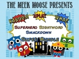 Superhero Smackdown - Dolch Sight Word Game - Super Bundle