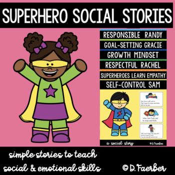 Superhero Social Stories (Bundle)