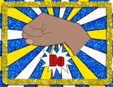 Superhero Solfege Hand Signs