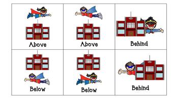 Superhero Spatial Concepts