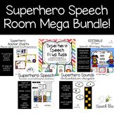 Superhero Speech Room Mega Bundle!