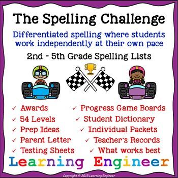 2nd Grade Spelling Practice