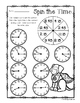 Superhero - Spin the Time: Telling time :15 (quarter past) / :45 (quarter to)