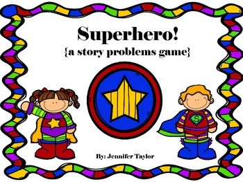 Superhero Story Problems