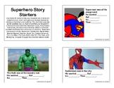 Superhero Story Starters