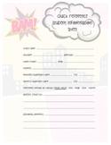 Superhero Student Quick Ref. Form - Method of contact vers