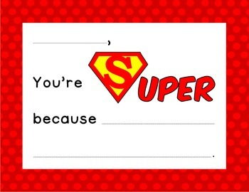 Superhero Student Spotlight