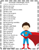 Superhero Student Summer Review Booklet