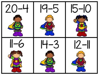 Superhero Subtraction