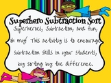 Superhero Subtraction Sort