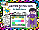 Superhero Summary Game