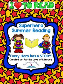 Summer Reading Packet- Superhero Themed