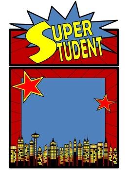 Superhero Super Student of the Week