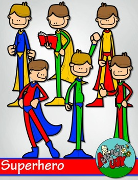Superhero / Super hero Clip art
