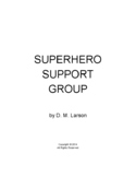 Superhero Support Group script for reader's theatre, plays
