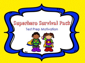 Superhero Survival Pack - Test Motivation