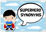 Superhero Synonyms Display Pack