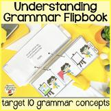 Superhero Syntax: A Flipbook for Receptive Grammar Tasks