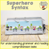 Superhero Syntax: A Flipbook for Receptive Grammar Tasks