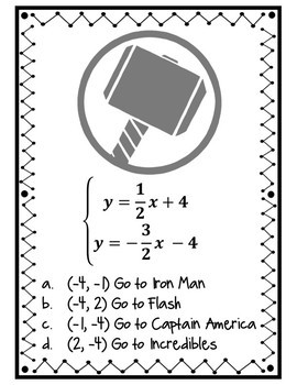 Superhero Systems Scavenger Hunt:
