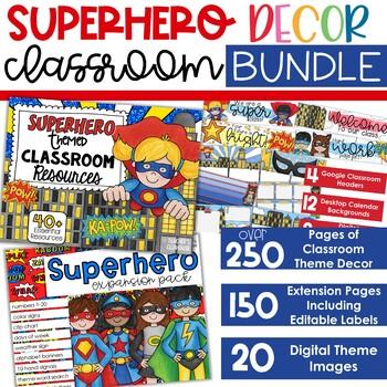 Superheroes Learning Board Superheroes Learning Center poster Tablero de aprendizaje Poster de aprendizaje Home school Learning room