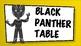 Superhero Table Signs
