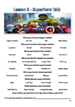 Superhero Talk!