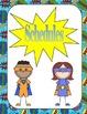 Superhero Teacher Binder