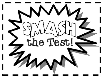 Superhero Testing Words