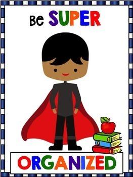 Superhero Theme Posters
