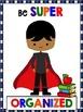 Growth Mindset Posters Superhero Theme