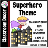 Superhero Theme Classroom Decor Bundle