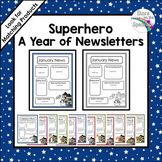 Superhero Newsletter Editable Template