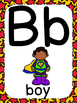 Superhero Theme ABC Posters - Large, Small & Flashcards